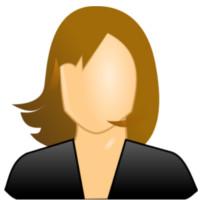 Profil Frau Platzhalter